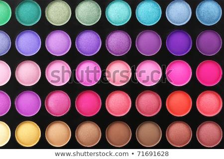 set of multicolored eyeshadows Stock photo © Discovod