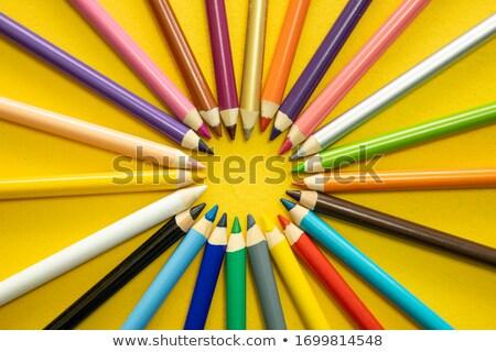 wood crayon Stock photo © jeancliclac
