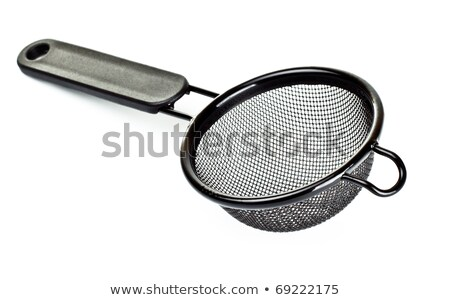 plastic tea strainer stock photo © bdspn
