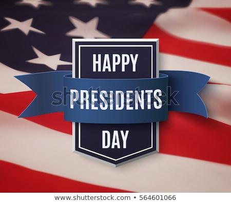 broszura · szablon · Stany · Zjednoczone · Ameryki · prezydent · dzień - zdjęcia stock © bharat