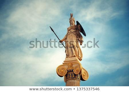 Statue of Athena Stock photo © faabi