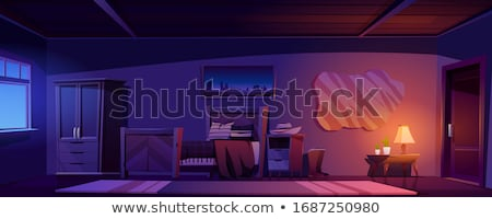 WIndow inside rural house Stock photo © Nejron