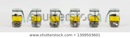 Coins in a jam jar Stock photo © monkey_business