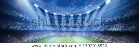 Champion rot weiß Sport Spiel Stock foto © chrisdorney
