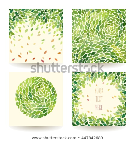 Seamless background with leaves, leaf fall Stock photo © elenapro