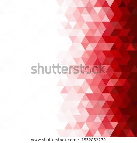 Mértani absztrakt piros hely másolat eps10 Stock fotó © 5xinc