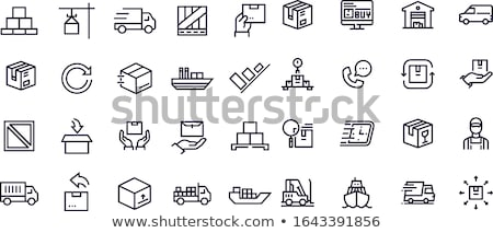 Vector postal items illustration   stock photo © Mr_Vector