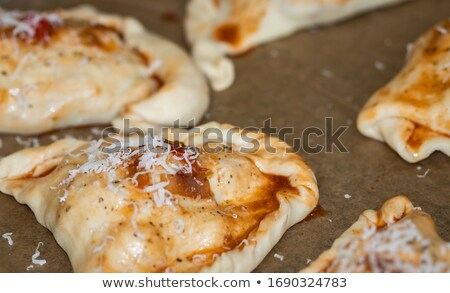 calzone homemade Stock photo © tdoes