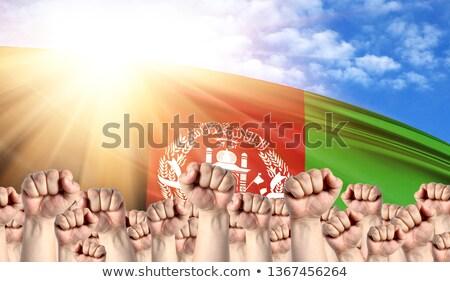 Афганистан · флаг · сфере · изолированный · белый - Сток-фото © stevanovicigor