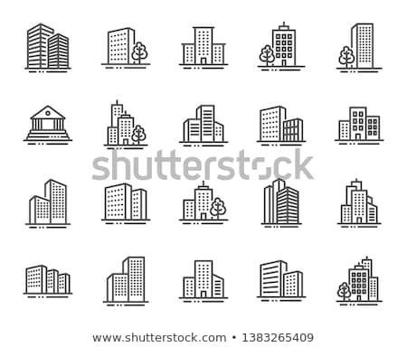 Building illustrations Stock photo © mikemcd