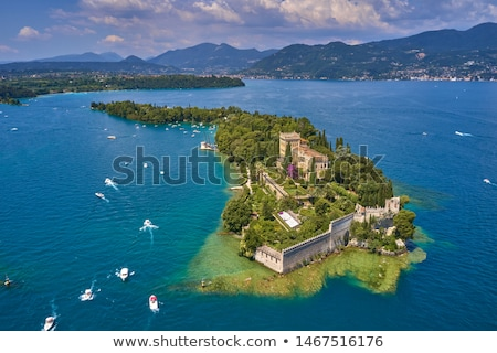 beautiful old villa of lake garda in italy stock photo © master1305