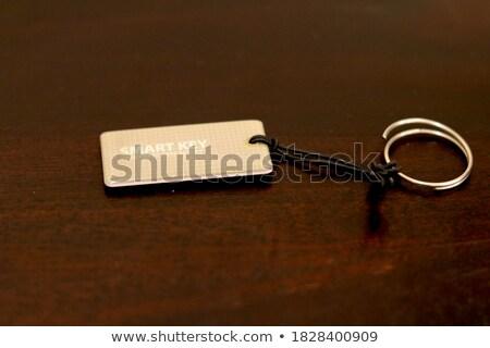 Pension Concept. Keys with Keyring. Stock photo © tashatuvango