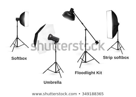 Photo stock: Photographie · matériel · d'éclairage · vecteur · photo · studio