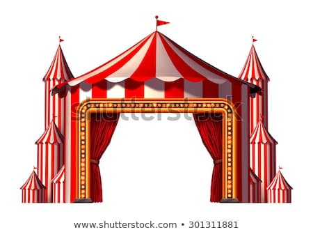 Circus Blank Space Stage Stock photo © Lightsource