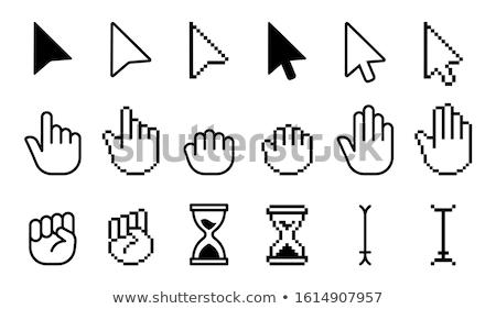 computador · cursor · teia · informação · seta - foto stock © netkov1