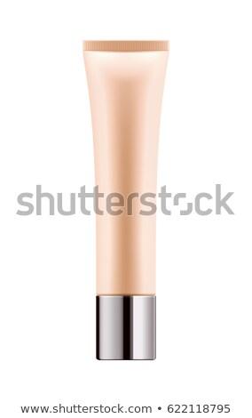 Tone cream in tube isolated on white Stock photo © tetkoren