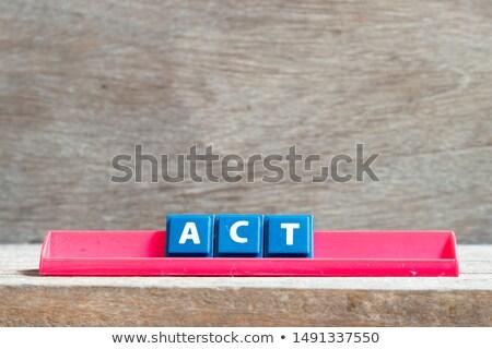 tempo · agir · cronômetro · texto · branco · dinheiro - foto stock © fuzzbones0