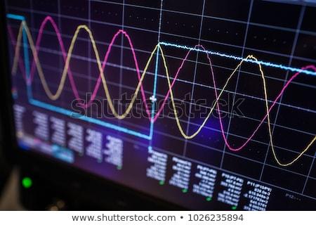 oscilloscope stock photo © bigalbaloo