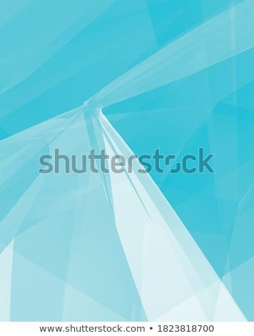 明るい ターコイズ 青 抽象的な 低い ポリゴン ストックフォト © patrimonio