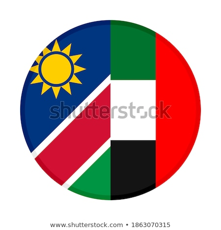 United Arab Emirates and Namibia Flags  Stock photo © Istanbul2009