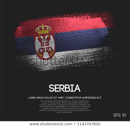 made in serbia Stock photo © tony4urban
