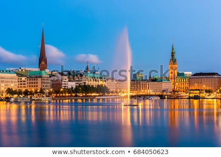 oude · schip · hamburg · haven · foto's · Duitsland - stockfoto © vladacanon