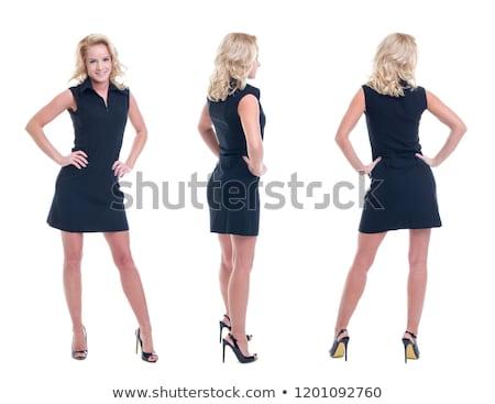 Businesswoman standing with hands on hips Stock photo © wavebreak_media