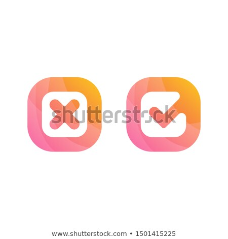 Ready Yes Or No Check Mark Concept Stock photo © ivelin