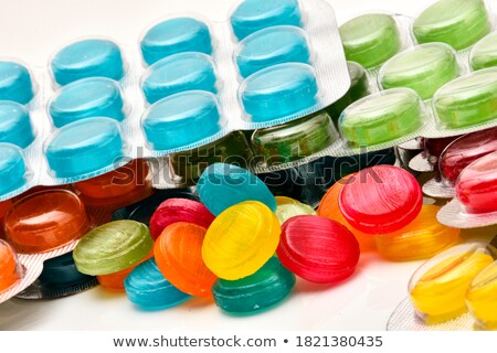 Throat lozenges Stock photo © bluering