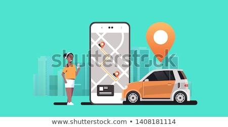 car sharing or carsharing concept stock photo © stevanovicigor