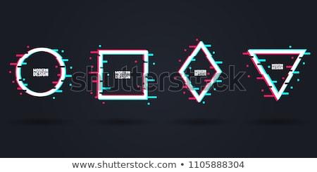Müzik logo tasarımı kulaklık parti arka plan sanat Stok fotoğraf © sdCrea