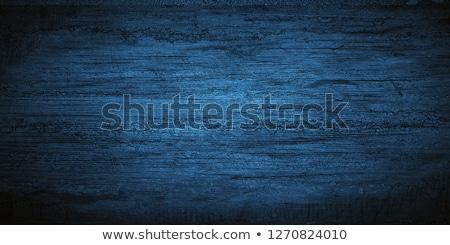Klasszikus kék fa textúra természetes minták grunge Stock fotó © Yatsenko