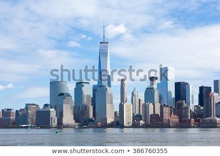 Freedom Tower napfény belváros épület város pálma Stock fotó © meinzahn