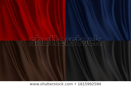 abstract red cloth wave vector background with copy space stock photo © tuulijumala