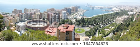 Ciudad hermosa vista verano azul Foto stock © -Baks-
