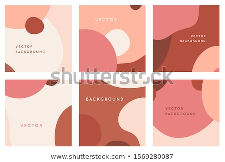 creative simple certificate design template with abstract shape stock photo © SArts