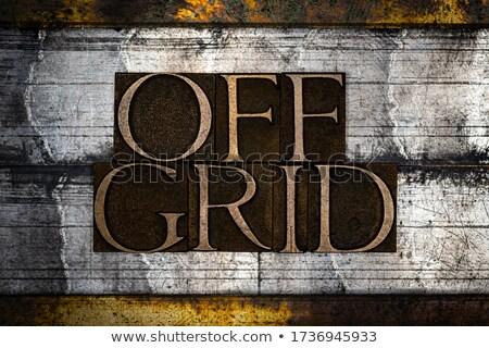 сетке иллюстрация знак только электроэнергии Сток-фото © 72soul