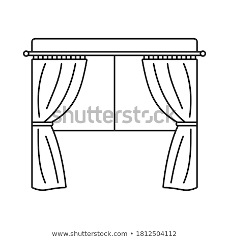 Vector theatre stage illustration  Stock photo © orson