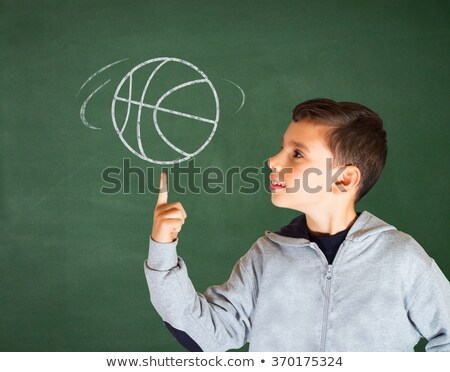 intelligence   hand drawn on green chalkboard stock photo © tashatuvango