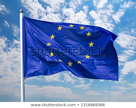 Close-Up of the flag of the European Union Stock photo © bestmoose