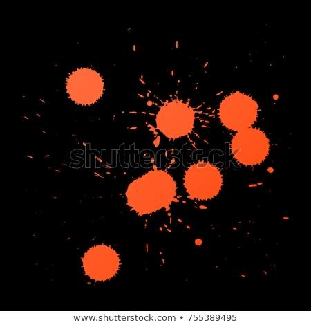 vector realistic paintball shots splatters Stock photo © TRIKONA