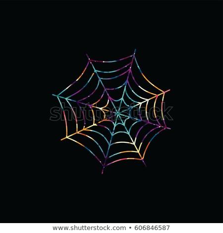 telaraña · resumen · colorido · triángulo · geométrico · logo - foto stock © vector1st