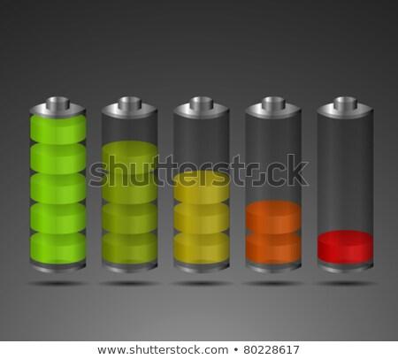 batteria · trasparente · elettrica · lucido - foto d'archivio © romvo