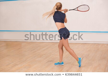 Female squash player Stock photo © IS2