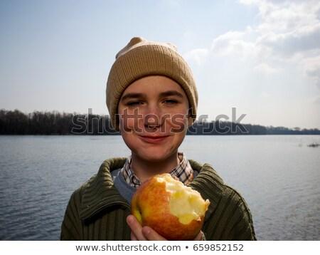 яблоко · день · молодые · медицинской · профессиональных - Сток-фото © is2