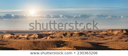 desert panorama of the highlands stock photo © tracer