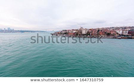 tájkép · panorámakép · kilátás · tenger · történelmi · Isztambul - stock fotó © artjazz