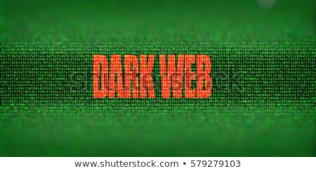 暗い ウェブ シンボル 隠された インターネット 技術 ストックフォト © Lightsource