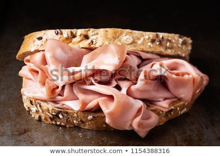 Foto stock: Rústico · italiano · sándwich · Blur · alimentos
