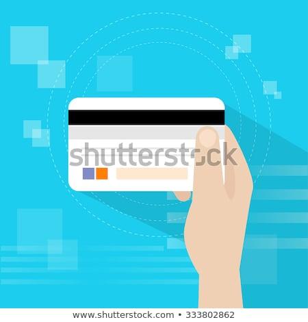 colorful international debit cards Stock photo © get4net
